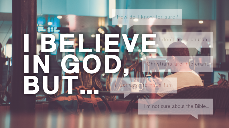 """""""I Believe in God, But..."""" Discovery Group"""