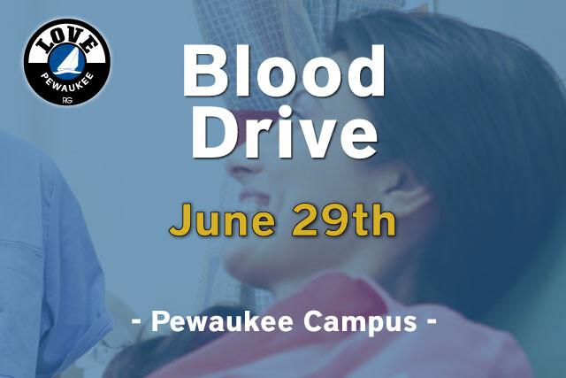 Love Pewaukee Blood Drive