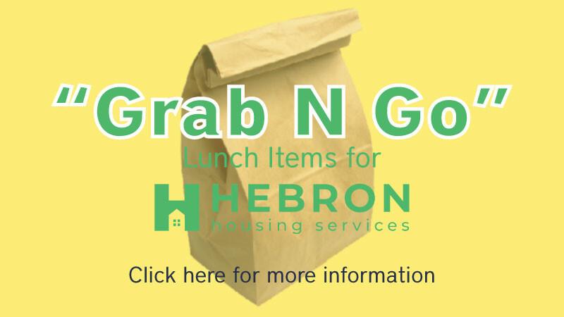 Grab n Go Lunch Item Drive