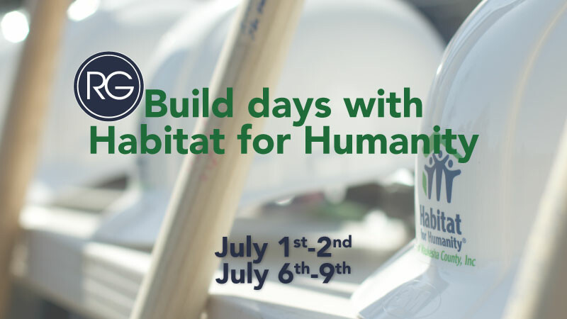 RG Build Days with Habitat for Humanity