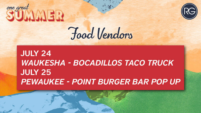 One Great Summer Food Vendors