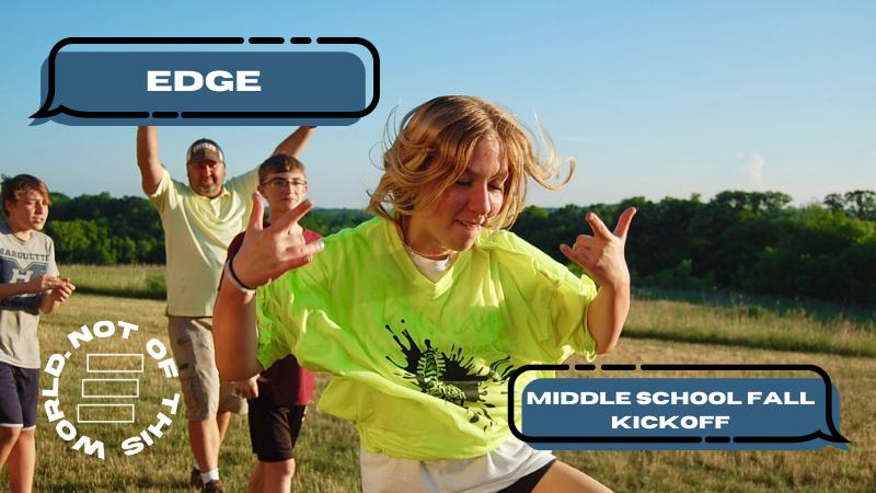 Edge Middle School Fall Kick Off