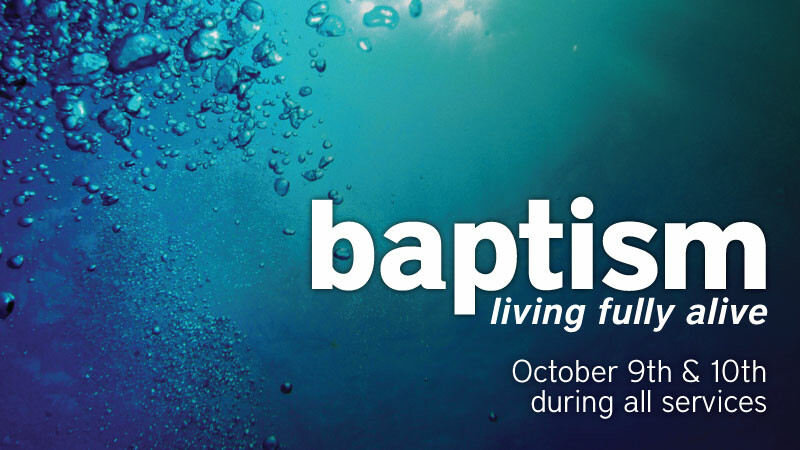 Baptisms in Service