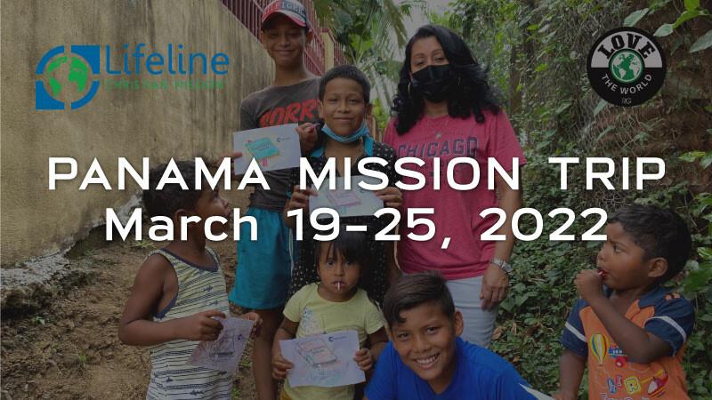 Spring 2022 Panama Mission Trip Registration Deadline