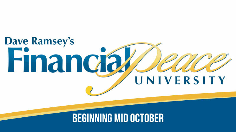Financial Peace University Groups Starting
