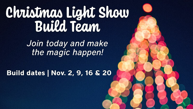 Christmas Light Show Build Team 2021